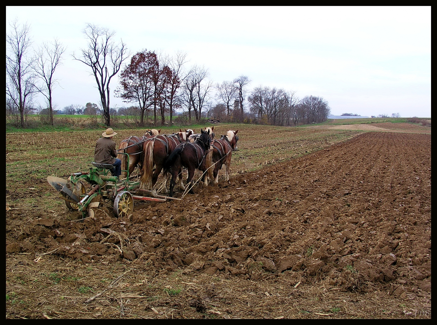 Fall Plowing Time Lancaster County PA