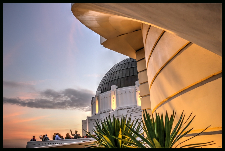 Griffith Observatory LA - Out for the Evening