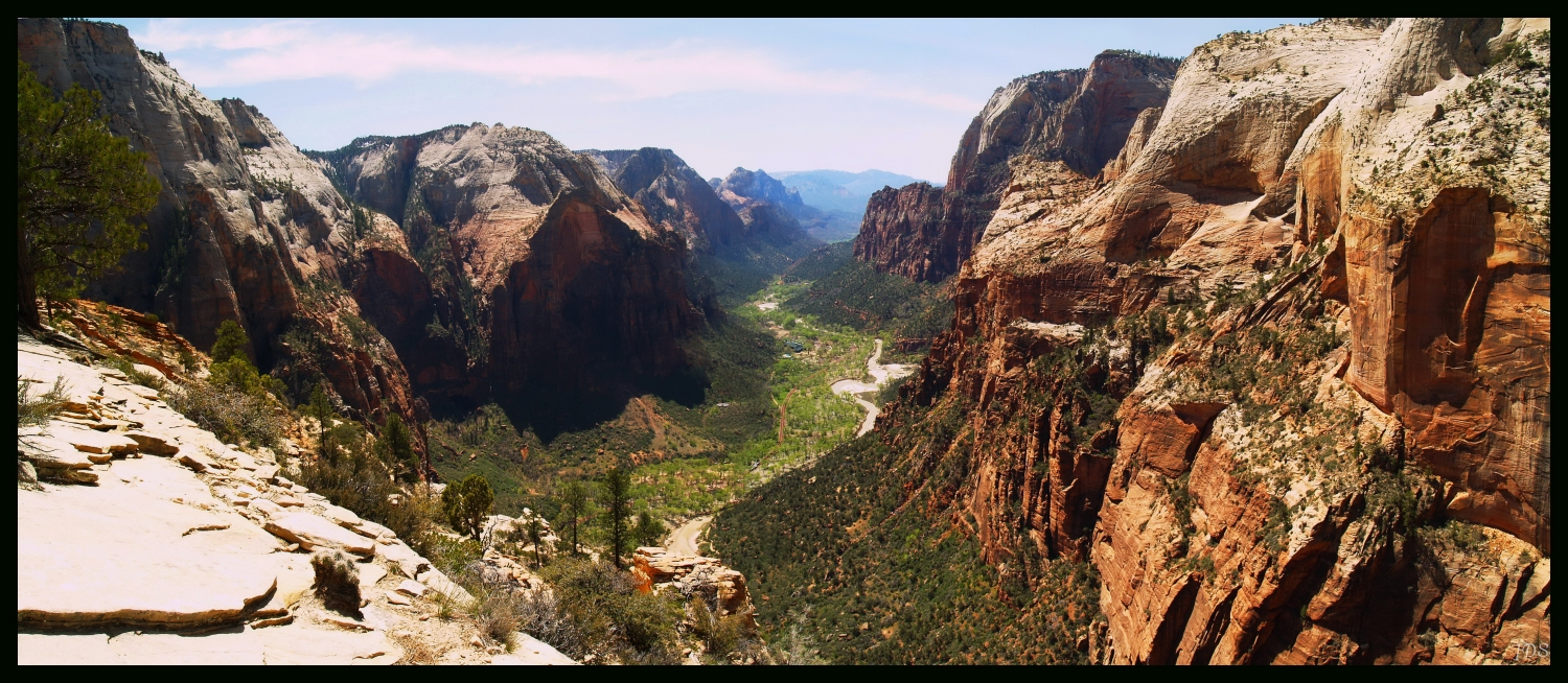 Zion_From Angels Landing